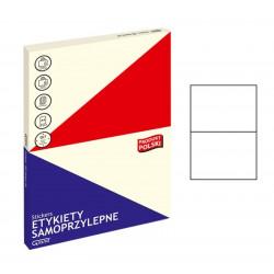 Lipnios etiketės GRAND 031 A4 210x148mm. 2 lip. 100l.