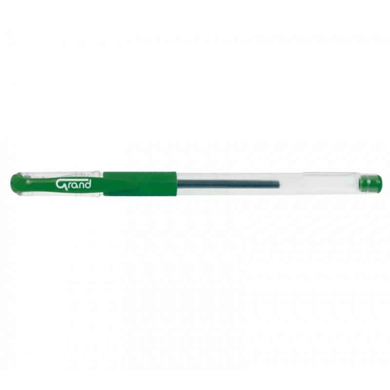 Gelinis rašiklis GR-101 GRAND žalias įp.12