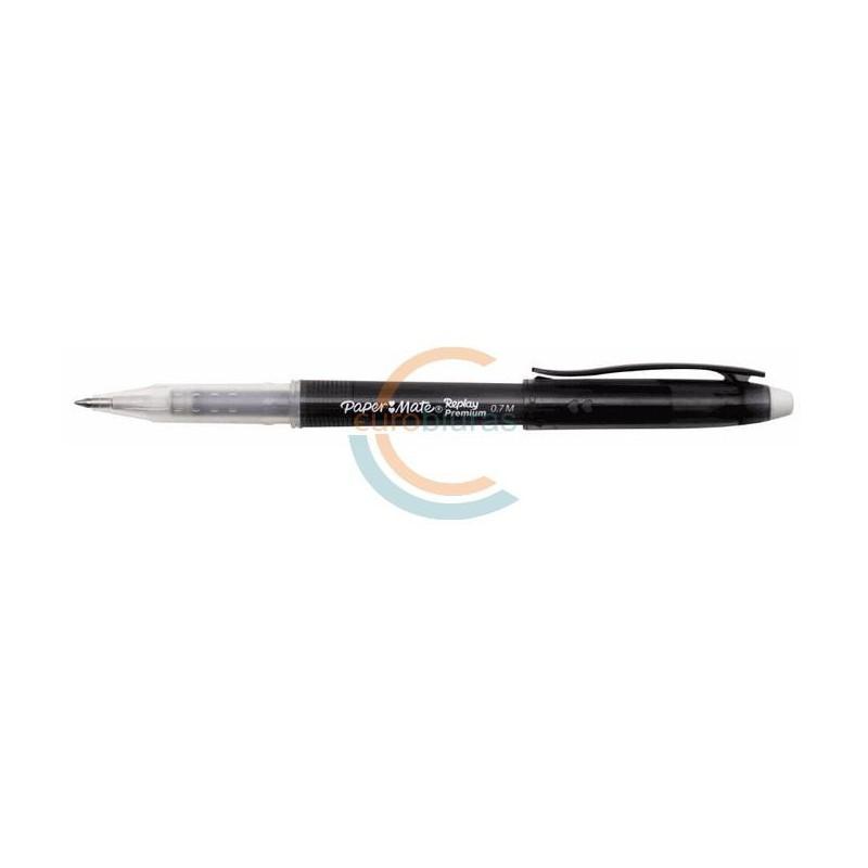 Tušinukas su trintuku REPLAY PREMIUM 0,7mm juodas  įp.12