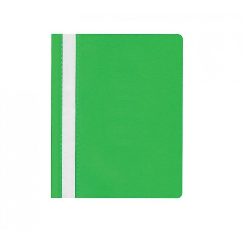 Segtuvėlis A4 matiniu viršeliu šv. žalias įp.25