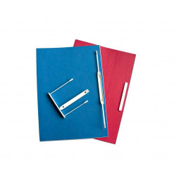 Dokumentų archyvinės įsegėlės baltos E-CLIP 8 cm įp.50