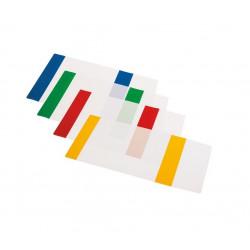 Aplankalas sąsiuviniui A5 dok.spalvotas reguliuojamas įp.50