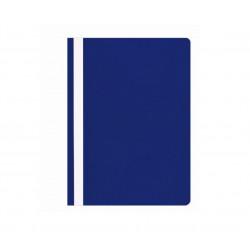 Segtuvėlis A4 matiniu viršeliu t.mėlynas įp.25