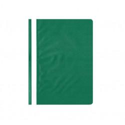 Segtuvėlis A4 matiniu viršeliu t. žalias įp.25