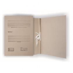 Segtuvas archyvinis iš rudo kartono 2cm