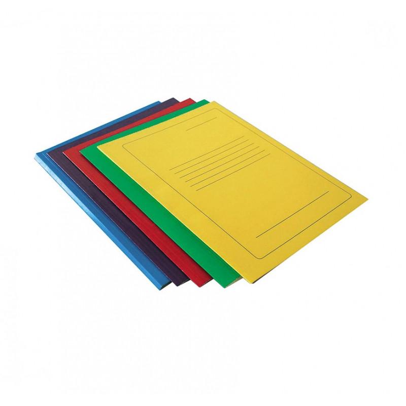Kartoninis segtuvėlis su spauda geltonas A4