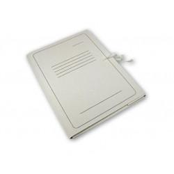 Aplankas A4 dokumentams baltas su raišteliais įp.50
