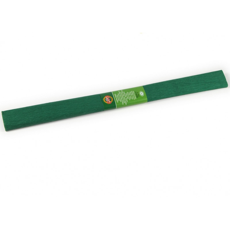Krepinis popierius t. žalias 200x50,  KOH-I-NOOR  įp.10