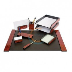 Darbo stalo rinkinys 8 dalių, medinis  FORPUS