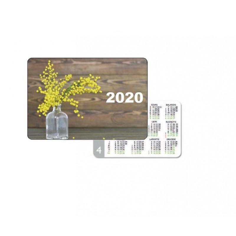 Kišeninis kalendoriukas 2021 metams.