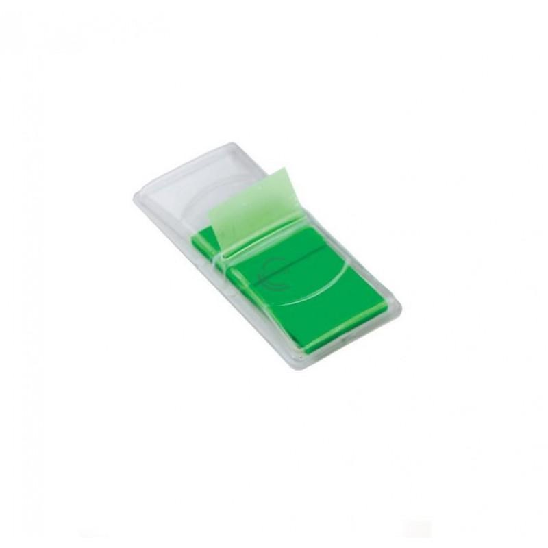 Indeksai-žymekliai plastikiniai 44x25 50vnt. žalia sp.