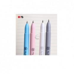 Gelio rašiklis su trintuku MUSTACHE 0,5mm mėlyna sp. įp.40